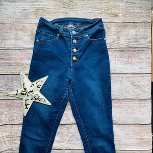 High Waisted Skinny Jeans - size 1/2 - C-07